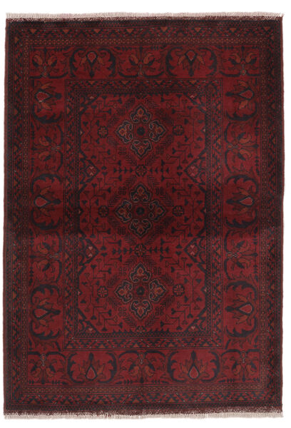 Afghan Khal Mohammadi Rug 104X146 Authentic  Oriental Handknotted Black (Wool, Afghanistan)