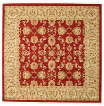 Ziegler Kaspin - Red Rug 192X192 Oriental Square Rust Red/Light Brown ( Turkey)