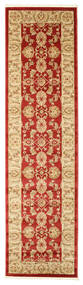 Ziegler Kaspin - Red Rug 80X300 Oriental Hallway Runner  Dark Beige/Rust Red ( Turkey)