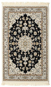 Nain Mahak Rug 100X160 Oriental Light Grey/Beige ( Turkey)