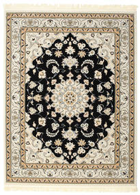 Nain Mahak Rug 192X250 Oriental Beige/Light Grey ( Turkey)
