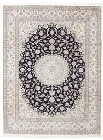 Nain 6La Signed: Habibian Rug 205X271 Authentic  Oriental Handknotted (Wool/Silk, Persia/Iran)