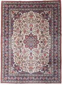 Sarouk Sherkat Farsh Rug 220X301 Authentic  Oriental Handknotted Dark Brown/Dark Purple (Wool, Persia/Iran)