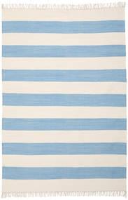 Cotton Stripe - Light Blue Rug 160X230 Authentic  Modern Handwoven Light Blue/Beige (Cotton, India)