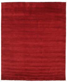 Handloom Fringes - Dark Red Rug 250X300 Modern Crimson Red Large (Wool, India)