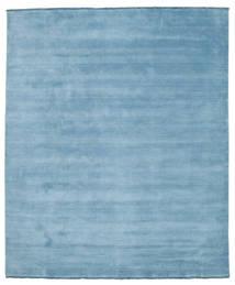 Handloom Fringes - Light Blue Rug 250X300 Modern Light Blue Large (Wool, India)