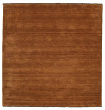 Handloom Fringes - Brown Rug 200X200 Modern Square Brown/Dark Brown (Wool, India)