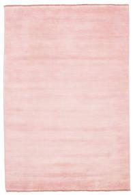 Handloom Fringes - Pink Rug 160X230 Modern Light Pink (Wool, India)