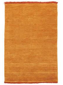 Handloom Fringes - Orange Rug 140X200 Modern Orange/Light Brown (Wool, India)