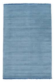 Handloom Fringes - Light Blue Rug 140X200 Modern Light Blue (Wool, India)