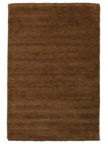 Handloom Fringes - Brown Rug 140X200 Modern Brown (Wool, India)
