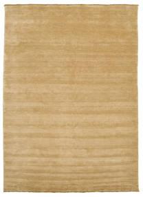 Handloom Fringes - Beige Rug 250X350 Modern Dark Beige/Light Brown Large (Wool, India)