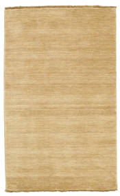 Handloom Fringes - Beige Rug 100X160 Modern Dark Beige/Light Brown (Wool, India)