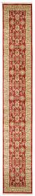 Ziegler Kaspin - Red Rug 80X500 Oriental Hallway Runner Dark Red/Dark Beige ( Turkey)
