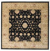 Farahan Ziegler - Beige Rug 250X250 Oriental Square Black/Light Brown/Dark Beige Large ( Turkey)