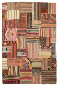 Kilim Patchwork Rug 179X275 Authentic  Modern Handwoven (Wool, Turkey)