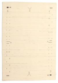 Gabbeh Loom Frame - Off White Rug 160X230 Modern Beige/Dark Beige (Wool, India)