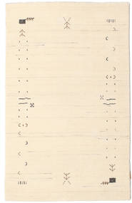 Gabbeh Loom Frame - Off White Rug 100X160 Modern Beige/Light Pink (Wool, India)