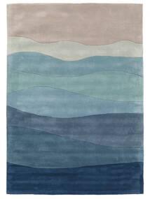 Feeling Handtufted - Blue Rug 140X200 Modern Dark Blue/Light Blue (Wool, India)