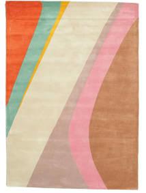 Dynamic Handtufted - Pink Rug 140X200 Modern Light Pink/Beige (Wool, India)
