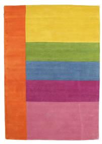 Colors By Meja Handtufted Rug 160X230 Modern Orange/Light Pink (Wool, India)