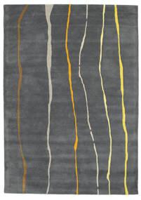 Flaws Handtufted - Grey Rug 160X230 Modern Dark Grey/Light Grey (Wool, India)