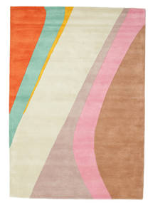 Dynamic Handtufted - Pink Rug 160X230 Modern Beige/Rust Red (Wool, India)