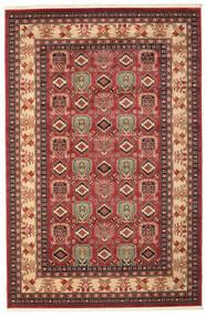 Kazak Simav Rug 200X300 Oriental Dark Red/Dark Brown ( Turkey)