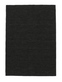 Kilim Loom - Black Rug 120X180 Authentic  Modern Handwoven Black (Wool, India)