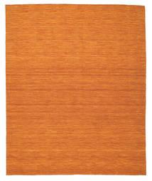 Kilim Loom - Orange Rug 250X300 Authentic  Modern Handwoven Orange Large (Wool, India)