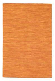 Kilim Loom - Orange Rug 120X180 Authentic  Modern Handwoven Orange (Wool, India)