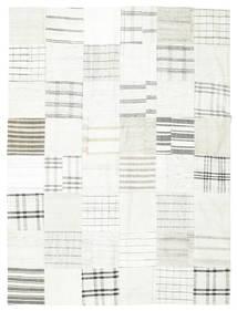 Kilim Patchwork Rug 170X227 Authentic  Modern Handwoven Beige/Light Grey (Wool, Turkey)
