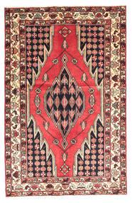 Saveh Rug 130X200 Authentic  Oriental Handknotted Dark Brown/Dark Red (Wool, Persia/Iran)