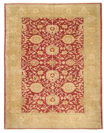 Egypt Rug 306X391 Authentic  Oriental Handknotted Dark Beige/Crimson Red Large (Wool, Egypt)