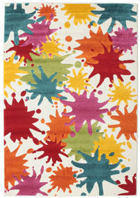 Splash Rug 120X180 Modern White/Creme/Beige ( Turkey)