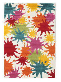 Splash Rug 140X200 Modern Beige/White/Creme ( Turkey)