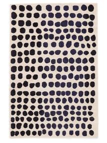 Square Rug 160X230 Modern Beige/Black ( Turkey)