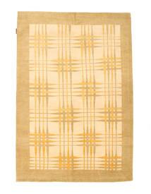 Ziegler Modern Rug 142X205 Authentic  Modern Handknotted Dark Beige/Light Brown (Wool, Pakistan)