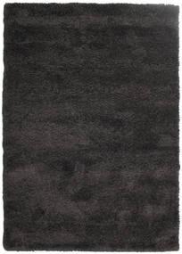 Shaggy Sadeh - Black/Grey Rug 160X230 Modern Black ( Turkey)