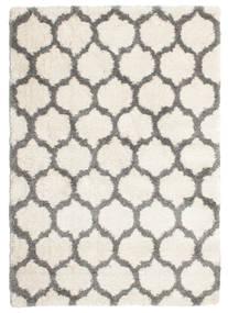 Berber Shaggy Illusia - Off White/Grey Rug 160X230 Modern Beige/Light Grey ( Turkey)