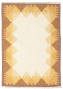 Kilim Dorris - Brown Rug 140X200 Authentic  Modern Handwoven Beige/Light Brown (Wool, India)