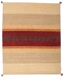 Loribaf Loom Rug 172X241 Authentic  Modern Handknotted Dark Beige/Dark Red (Wool, India)