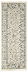 Ziegler Michigan - Green/Beige Rug 80X200 Oriental Hallway Runner  Light Grey/Beige ( Turkey)