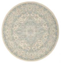 Ziegler Phoenix - Beige/Blue Rug Ø 150 Oriental Round Light Grey/Dark Beige ( Turkey)