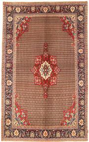 Koliai Rug 198X323 Authentic  Oriental Handknotted Dark Brown/Dark Red (Wool, Persia/Iran)