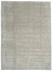 Handloom Fringes - Grey/Light Green Rug 300X400 Modern Light Grey/Light Brown Large (Wool, India)