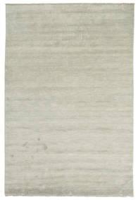 Handloom Fringes - Grey/Light Green Rug 200X300 Modern Light Grey/Light Brown (Wool, India)