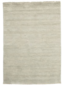 Handloom Fringes - Grey/Light Green Rug 140X200 Modern Light Grey/Dark Beige (Wool, India)