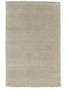 Handloom Fringes - Grey/Light Green Rug 160X230 Modern Light Brown/Light Grey (Wool, India)