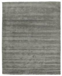 Handloom Fringes - Dark Grey Rug 200X250 Modern Dark Grey (Wool, India)